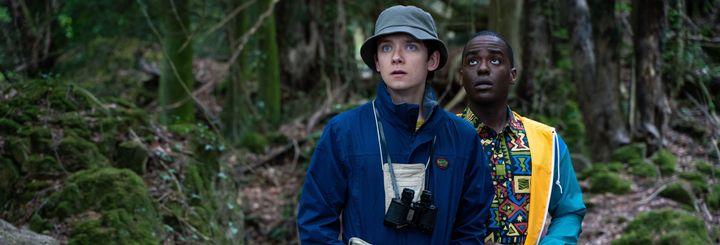 Asa Butterfield and Ncuti Gatwa