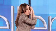 Aubrey Plaza Versucht Jennifer Lopez 'Stricher' Pole Dance Und Es War Etwas