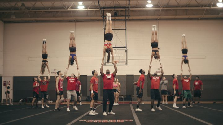 "The docuseries ""Cheer"" follows Navarro College's competitive cheer squad as they seek to win a national title."