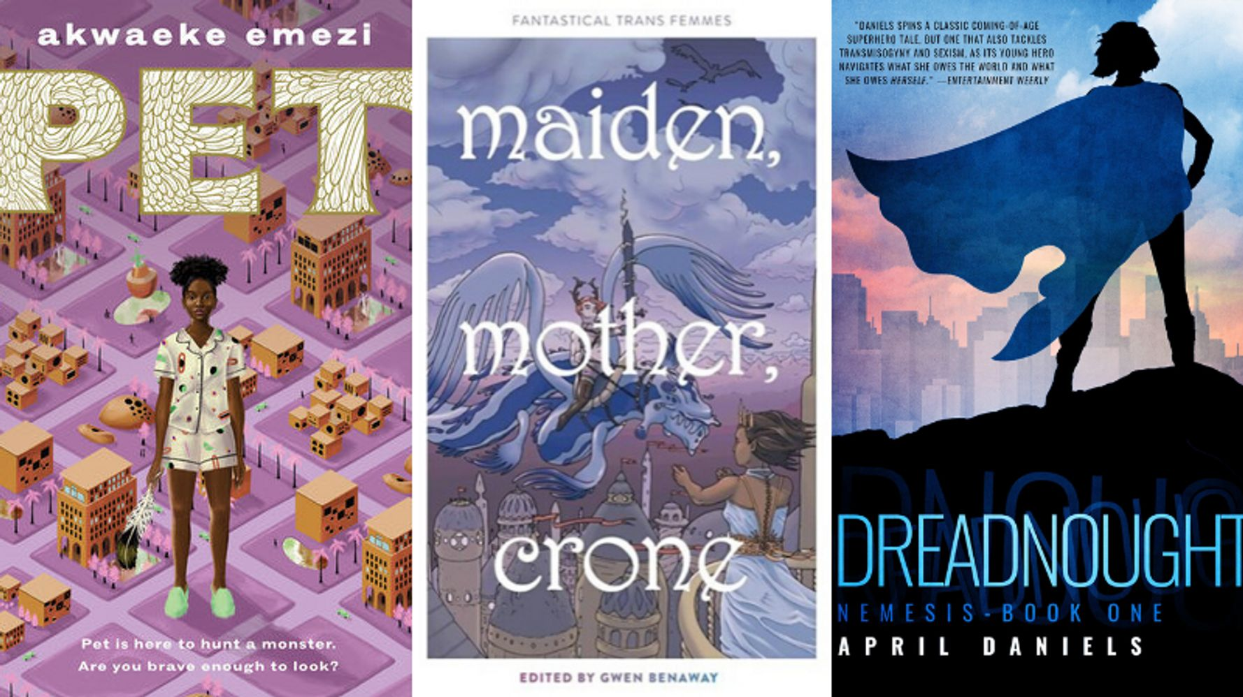Fantasy And Sci-Fi Books For Trans Kids And Teens