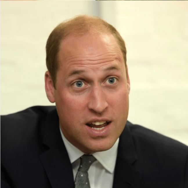 Prince William Can't Tell Who ...