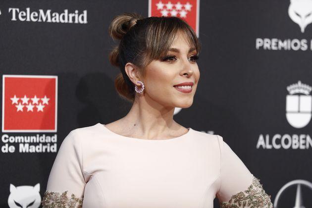 La cantante Gisela en los Premios Feroz