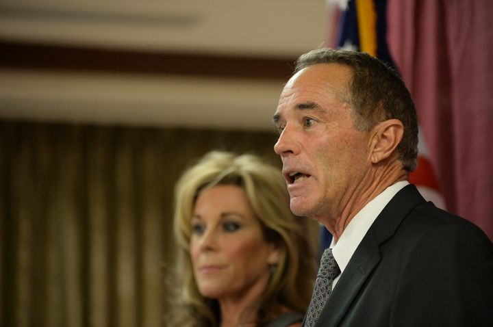 After seeing his political profile soar as an early backer of President Donald Trump, former Rep. Chris Collins (R-N.Y.)