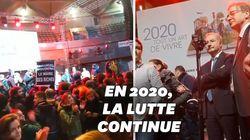 Les vœux du maire de Toulouse perturbés par des