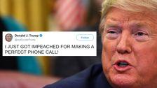 Trump Sagt, Er Habe 'Angeklagt Für Einen Perfekten Anruf'