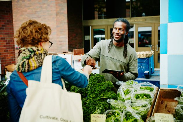 Buy local as much as possible and keep your diet