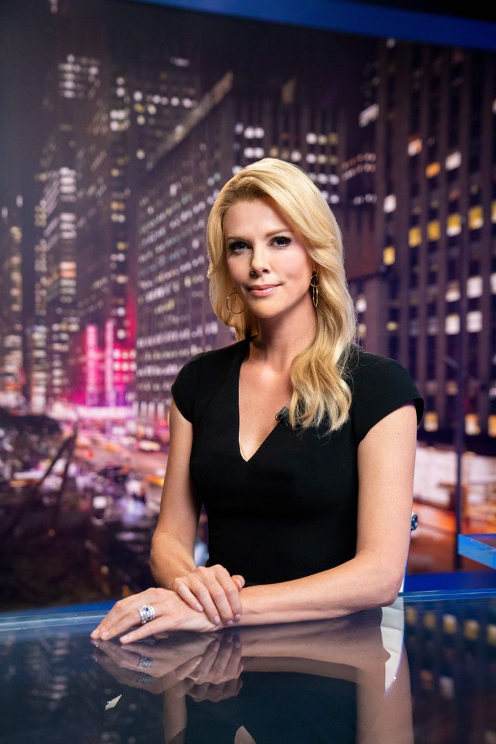 "Charlize Theron as Megyn Kelly in ""Bombshell."""