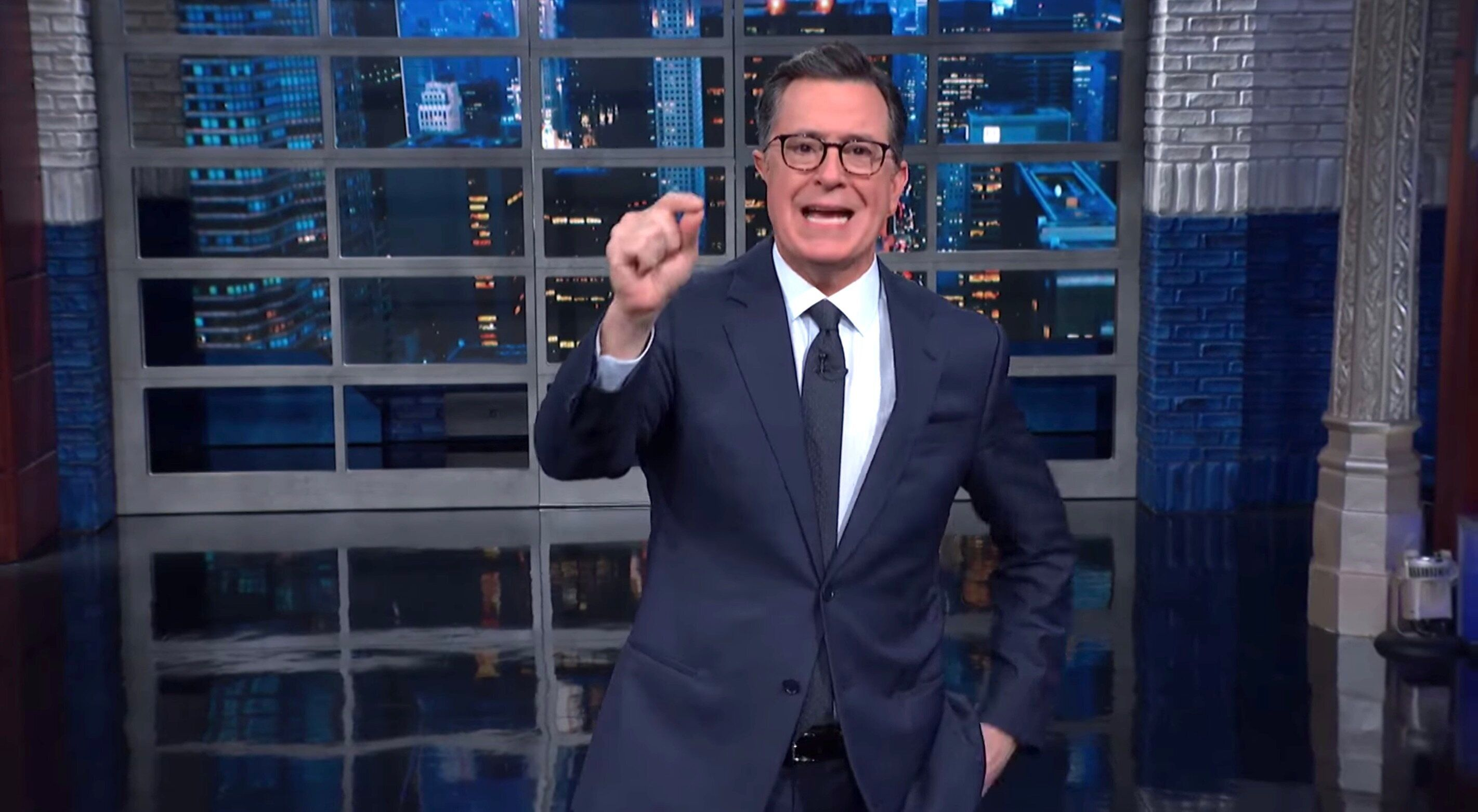 Colbert Drops GIF-Worthy Response To Latest Trump ...