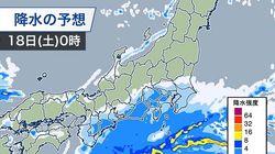 センター試験の明日朝は雪に注意 首都圏の平地でも雪やみぞれの可能性