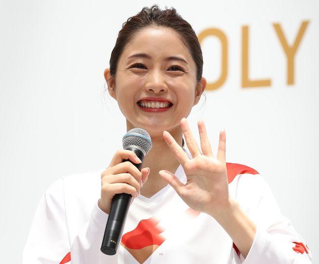 石原さとみさん 東京2020聖火リレー公式アンバサダー