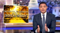 Trevor Noah Is Living For The Drama Of Parnas Throwing Trump 'Under The