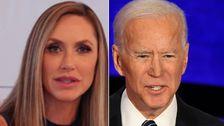 'を手に入れましょう言葉Out:ララトランプTauntsジョー Biden上吃音