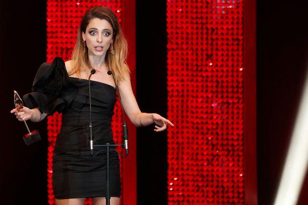 Leticia Dolera, en los Premios Feroz