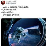 Pedro Duque arrasa con su respuesta a este tuit: más de 11.000 'me gusta' en