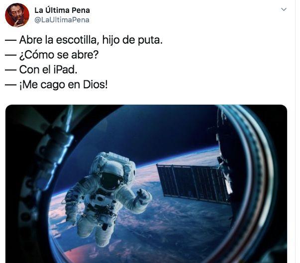 Pedro Duque responde a este