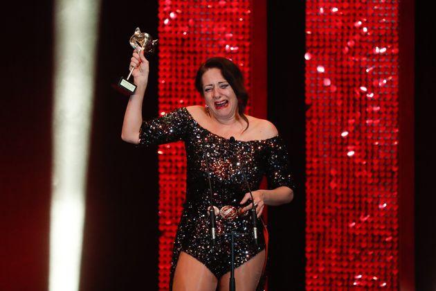 Yolanda Ramos, en los Premios Feroz