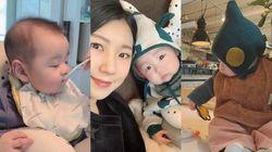 SNS로 전해진 서수연-이필모 부부 아들 근황 (사진