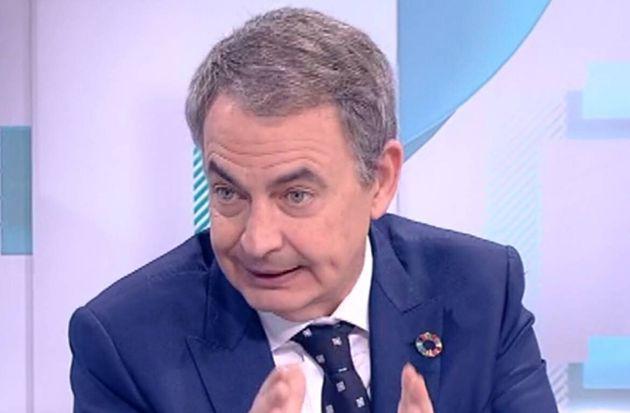 El expresidente del Gobierno José Luis Rodríguez