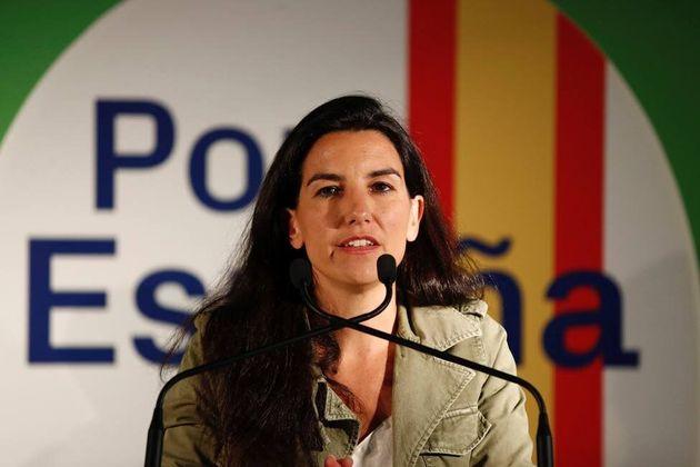 La diputada autonómica y líder de Vox en la Comunidad, Rocío