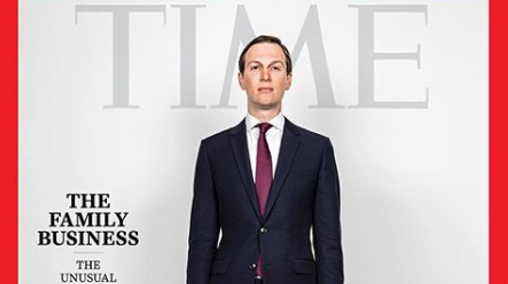 Westlake Legal Group 5e21808c2200005600472f17 Jared Kushner's New Time Magazine Cover Is Now A Brutal Meme
