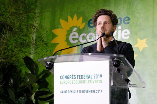 Julien Bayou, secrétaire national d'EELV, le 30 novembre