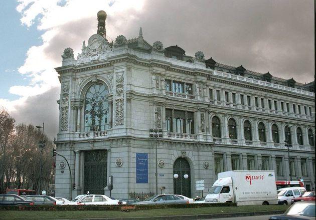 Fachada de la sede del Banco de España en