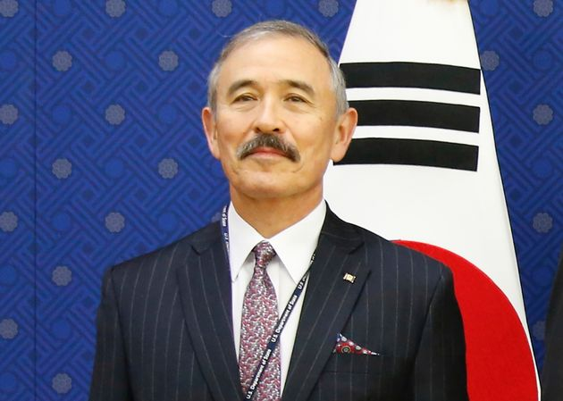 US Ambassador's Moustache Inflames Washington And Seoul Tensions