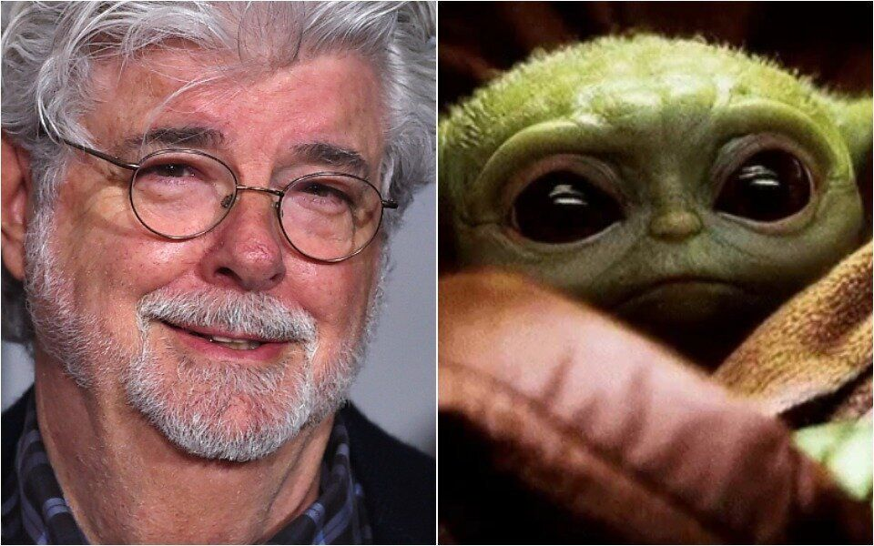 A Behind-The-Scenes Pic Of George Lucas ...