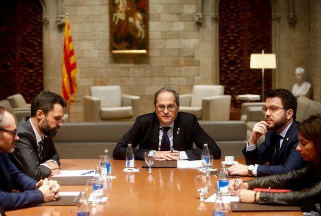 El TSJC anula el decreto del Govern que reabrió las