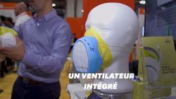 Ce masque anti-pollution vous alerte en temps