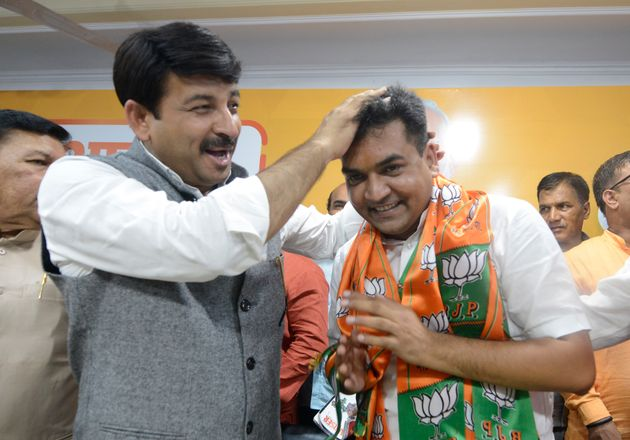 Kapil Mishra joined BJP in August in the presence of Manoj Tiwari in New