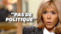 Brigitte Macron dit qu'elle ne fait pas de politique mais ce n'est pas si