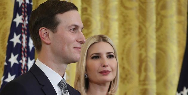 Jared Kushner, ici le 11 décembre à Washington avec son épouseIvanka Trump,...