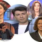 El pasado siempre vuelve: así eran algunos de los presentadores más famosos cuando llegaron a