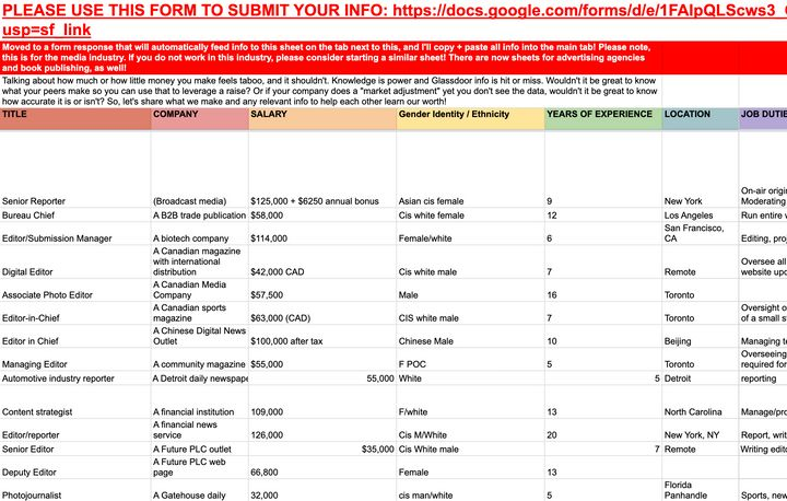 Many of your colleagues may be sharing valuable information through a Google spreadsheet right now.
