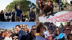 Le due piazze di Riace. Salvini sul mare con i leghisti, Lucano nel borgo con migranti e Sardine (di F.