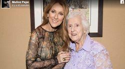 La mère de Céline Dion est