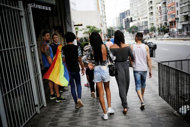 Segundo presidente da Associação de Travestis, Transexuais e Transgêneros do Estado...