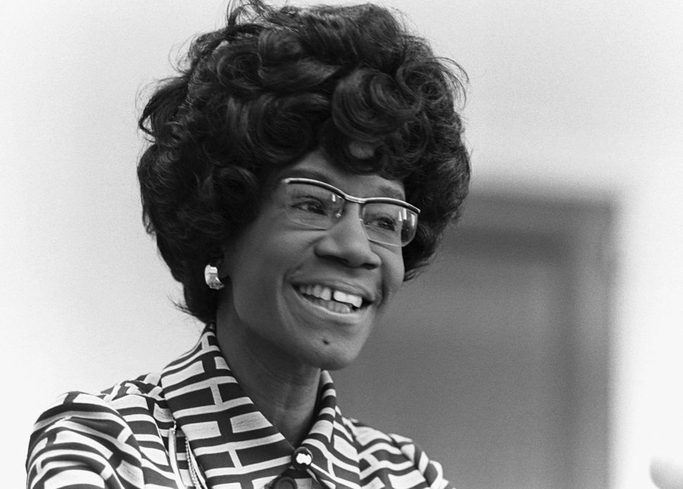 Rep. Shirley Chisholm (D-N.Y.) made history on a number of fronts, including becoming the first Black woman elected to Congre