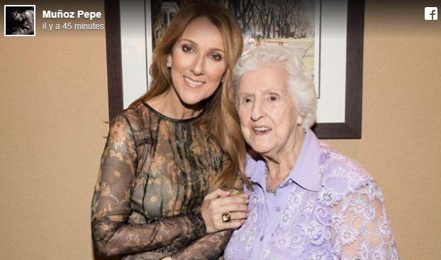 """Thérèse Tanguay Dion, la mère de Céline Dion, est morte à l'âge de 92 ans. Aux côtés de sa fille tout au long de sa carrière de chanteuse, """"Maman Dion"""" avait co-animé une émission culinaire québécoise dans les années 1990"""