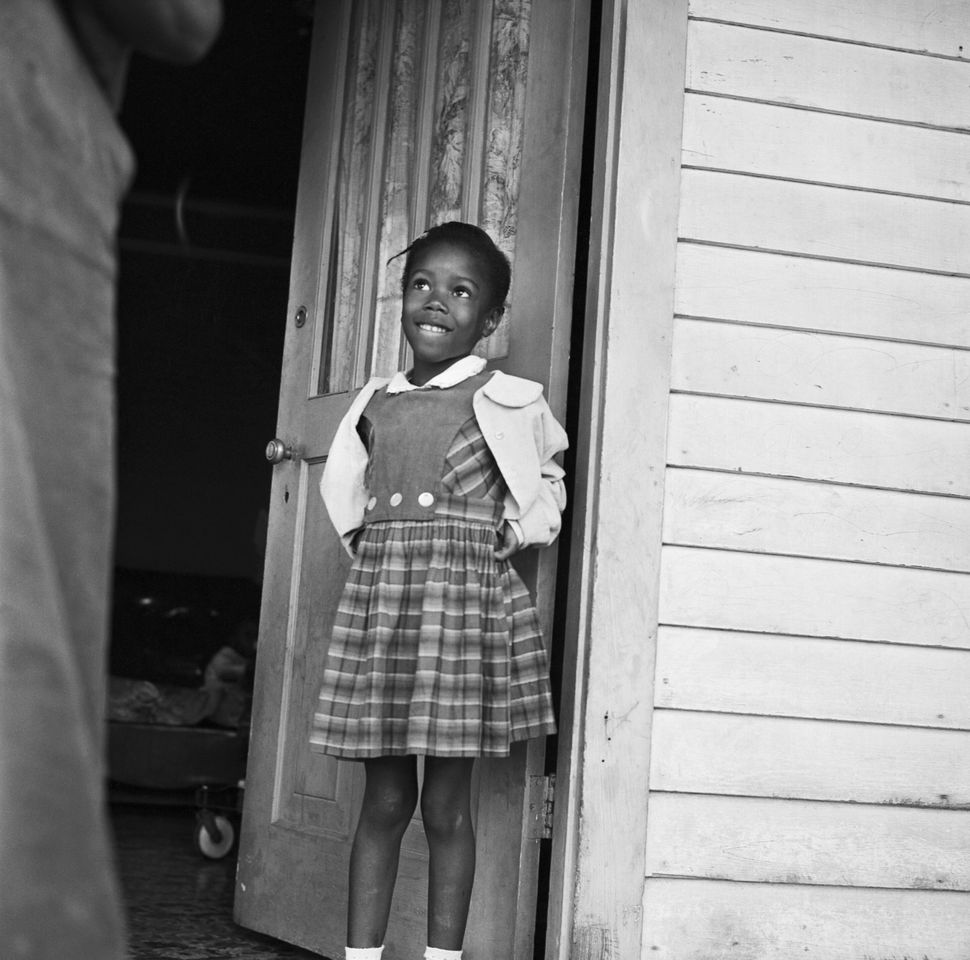 In 1960, Ruby Nell Bridges of New Orleans became one of the first Black children to integrate an elementary school in the Dee
