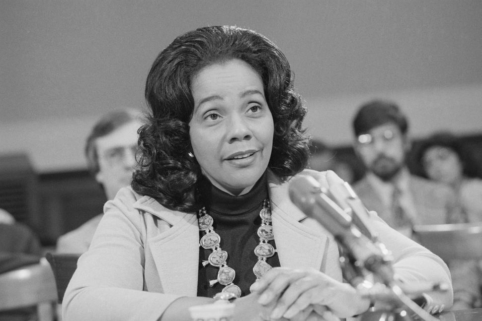 Coretta Scott King carried on her famed husband's fight for racial equality after his assassination in 1968, and also fought