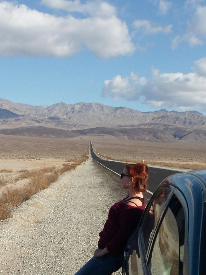 In the Panamint Valley, a remote area in the western Death Valley.