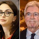 Claudio Martelli e Lia Quartapelle sposi a Tel