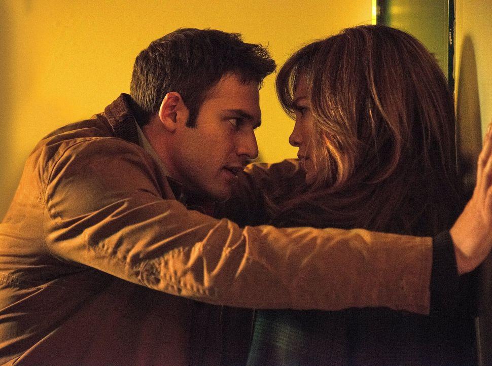 "Ryan Guzman and Jennifer Lopez in ""The Boy Next Door."""