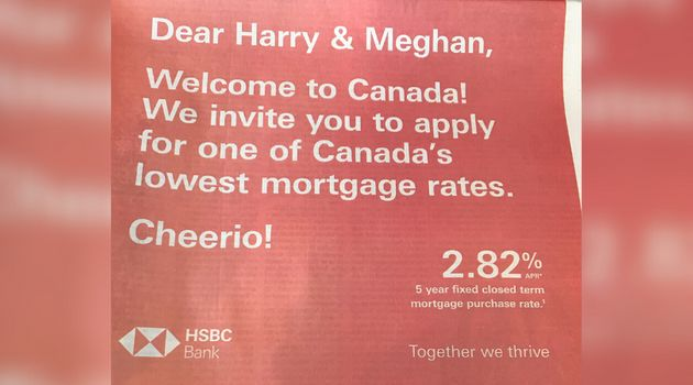 A bank advertisement in a Canadian newspaper on Jan. 17,