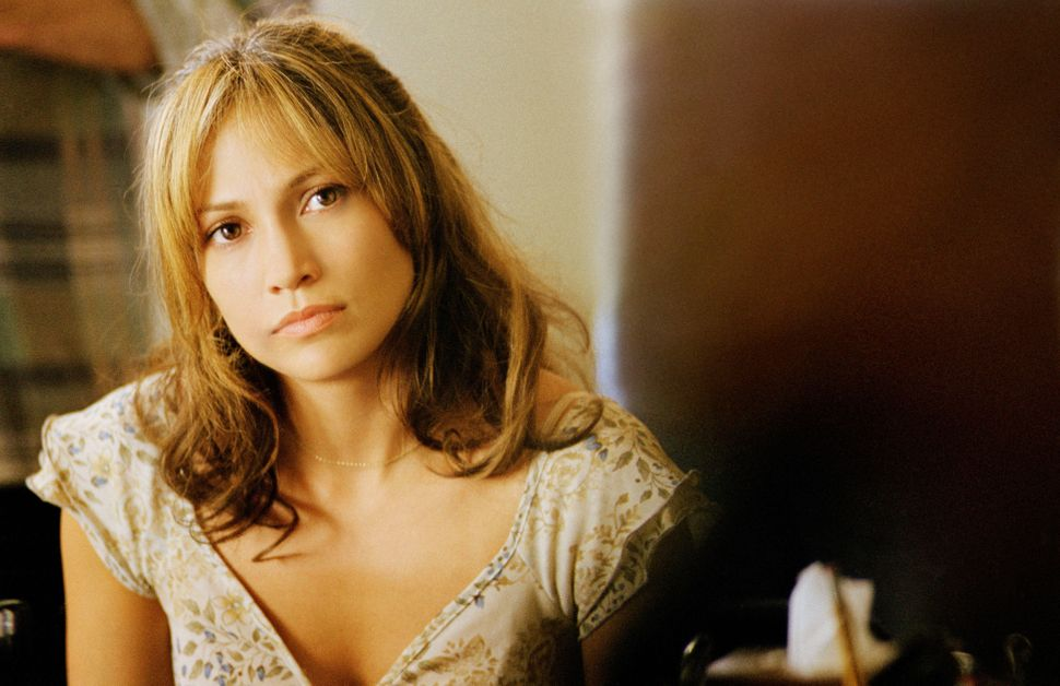 "Jennifer Lopez in ""An Unfinished Life."""