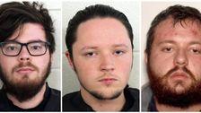 6疑いのあるネオナチスに逮捕されたリニアガンラリー