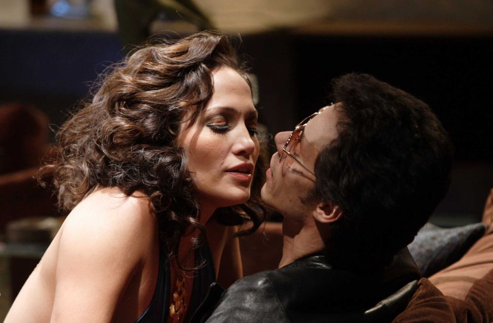 "Jennifer Lopez and Marc Anthony in ""El Cantante."""