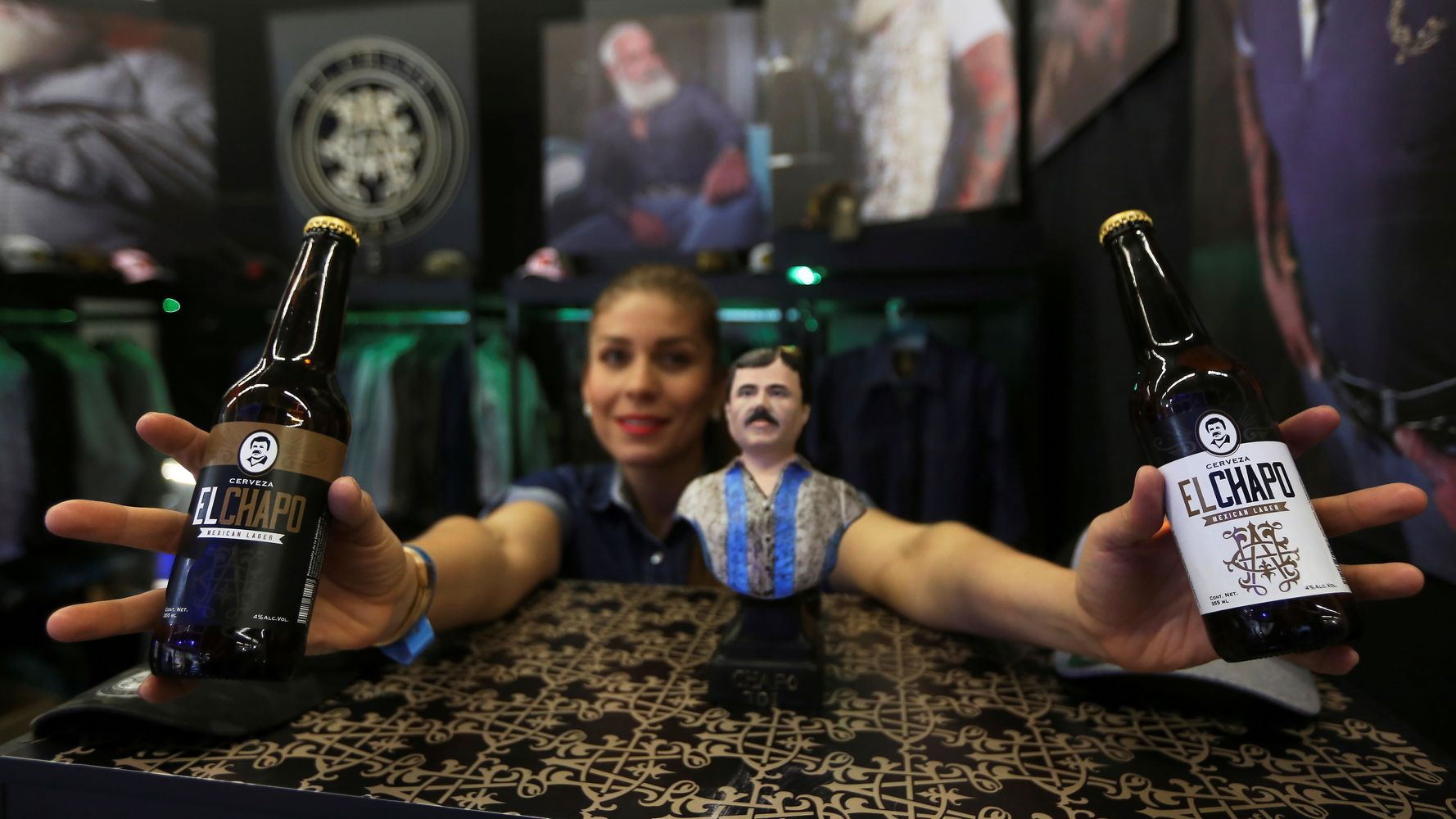 Mexican Drug Kingpin's Daughter Launches 'El Chapo' Beer